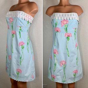 Lilly Pulitzer Long Stemmed Flowers dress sz 4